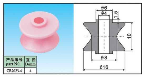 ceramic guide pullley CR2023-4(China (Mainland))