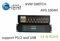 "4 Port USB & PS/2 KVM Switch Connect to 15"",17'',19'' KVM"