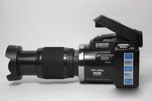 A new digital camera D3000 telephoto wide-angle 1600 w 3.0 inch TFT color screen pixels SLR