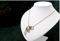 Free Shipping Fine blue eyes necklace for sale cheap