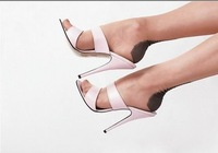 Fashion fish head sandals sexy high heels sandals 12 cm