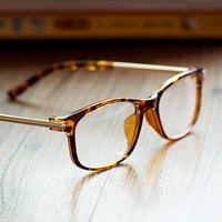 Free shipping fashion 2014 tops ,Square frame glasses Radiation resistant glasses brand designer wholesale 91710
