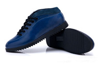 2014 Spring Fall New Style men's Leather shoes First layer of leather Fashion Casual 4 Color Size:6-9.5