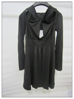 Under the new dress dress $10 2014 European ladies fashion long-sleeved chiffon unlined upper garment
