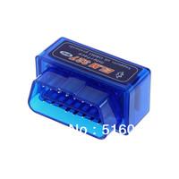 Free Shipping Mini ELM327 V1.5 OBD2 II Bluetooth Diagnostic Car Auto Interface Scanner
