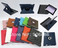 Folio type pu leather  Smart cover case For iPad 2 3 4 Free Shipping