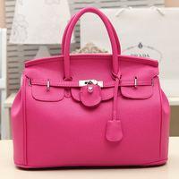 Bag 2014 star bags lychee platinum package women's handbag fashion vintage bag handbag