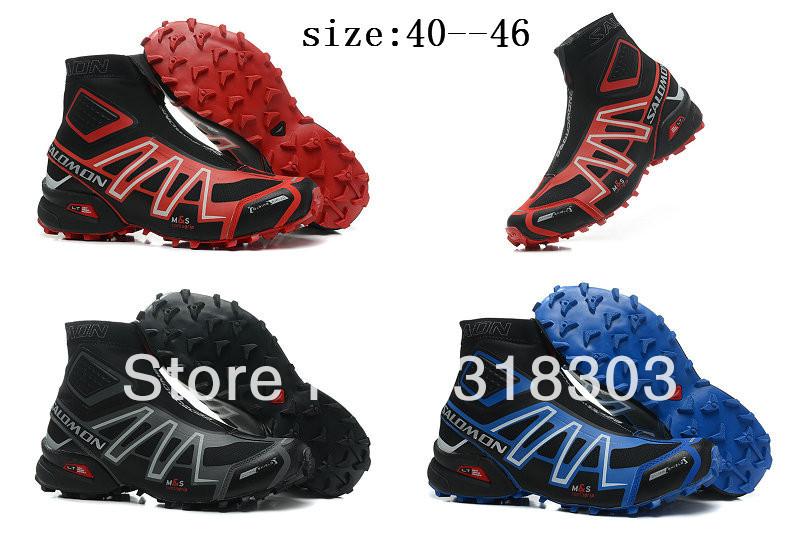 Зимний salomon spikecross snowcross обувь salomon