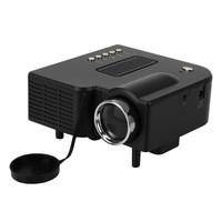 New Mini HD LED Projector Cinema Home Theater PC Laptop VGA USB SD AV HDMI AU support 1080p free shipping