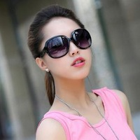 Women Fashion Sun Glasses Beautiful And All Match Plastic Glasses For Holiday AT078