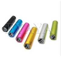 10pcs! 8 colors Free shipping 2600mAh External Mobile Battery Charger USB Power Bank without boxs for Iphone Samsung IPad