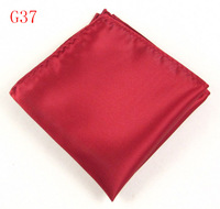 Xinclubna Wine red commercial male suit shirt pocket towel squareinto chest towel handkerchief g37