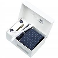 Waterproof 7cm Dark Blue tie male formal commercial dual-use tie marriage