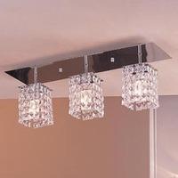 Factory wholesale modern luxury Crystal lamp living room lights bedroom lamp lamps lighting ceiling light rectangle x8024