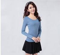 brand new spring women long sleeve thin cashmere knitwear sweater