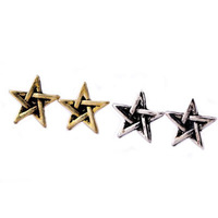 no minimum!Hot 2014stylish david star earring free shippingE027
