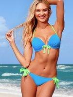 Free Shipping,Push Up,Knot And Colored Women Bikini,Sexy Beach Swim Wear,Swimsuits,Tankini Women Summer Beachwear,1 Set
