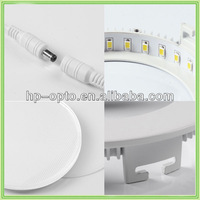 12w 5.4''*4.95''*0.39'' dimmable round LED Panel Light,ceiling light, home light, indoor light