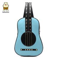 2014 guitar bag classical folk ballads double-shoulder guitar bag preppystyle female punk backpack bag