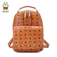 2014 rivet bag school bag computer backpack vintage preppy style backpack