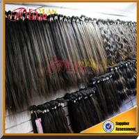 DHL free shipping Brazilian straight hair weave human hair bundle