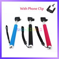 Portable Handheld Flexible Telescopic Extendible Phone Monopod Tripod for Digital Camera Camcorder