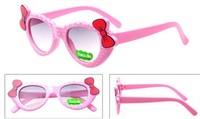 2014 Free Ship! Fashion Cool Anti-UV 400 Protective Eyewear Sunglasses Children Kids Boys Girls Colorful Cartoon Bow Sun Glasses