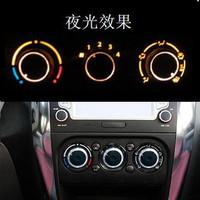 Aluminum Suzuki Tianyu SX4 Amagatarai modified modified air conditioning air conditioning switch knob one pair of 3