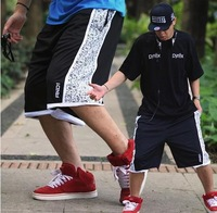 new2014 Street basketball shorts AND1 classic double breathable mesh training shorts board shorts