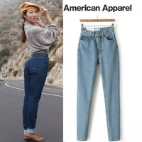 HOT HOT HOT American apparel aa aomiz vintage water wash denim harem pants trousers