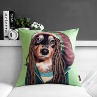 "High Quality, Cartoon Star Bob Marley Creative Sofa Plush Back Cushion Throw Pillows 17""*17"" (only cover)"