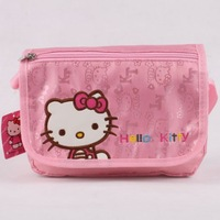 KT8013 Children School Bags Hello Kitty Girls Canvas Mochilas Kids Printing Cartoon Schoolbag