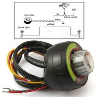 Secure Driving Car Action Flashing Light Brake Controller