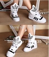 Free Shipping Hot 2014 Justin Bieber Shoes New Hip Hop Men Women Skateboarding Shoes High Top Sneakers sport running shoes 36-44