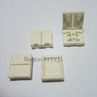 50 pcs Lot Mini 2-PIN Led Connector For 8mm 3528 Single Color LED Strip free shipping