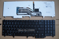 NEW Keyboard For DELL PRECISION M4800 M6800 US Backlit  Black with Pointer