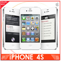 Original Iphone 4S mobile phone Unlocked Refurbished 16GB version Black/white color in stock