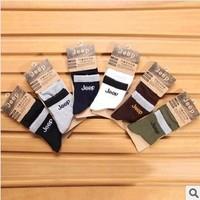 6 pcs/lot 2014 Pure Cotton Socks Men Brand Socks Classic Business Socks Solid Color Men's Socks 6 Color