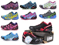 Free Shipping 2014 New Arrived Salomon Walking Shoes Women Athletic Shoes Running shoes ,Women sports shoes 20 color