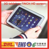 7INCH HD Tablet PC 3G Tablet PC 512MB RAM 4G RAM Smart tablet pc muliti-language FREE SHIPPING