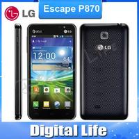 Original phone LG Escape P870 Dual Camera 5MP GPS WIFI Unlocked 3G 4G phone one year warranty
