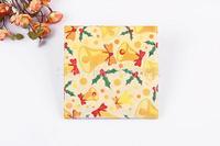 1 Pack 20 PCS Christmas Series Colorful Party Paper Napkin 33X33CM Pattern 8