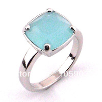 fashion  jewelry rings  WEDDING RINGS ,big stone  crystal  rings 925 stamped