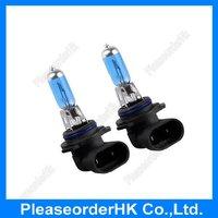 2pcs HB4 9006 Car Fog Light Halogen Xenon Bulb Lamp Super White 12V 55W 6000K