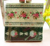 20 PCS/Pack  Vintage Color Paper Napkin Party 100% Virgin Wood Paper Napkin Pattern 2