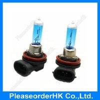 2x Car Headlight H11 Halogen Xenon Bulb PGJ19-2 Lamp Super White 12V 55W Low Beam 6000K