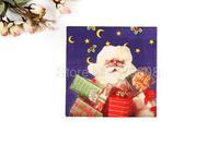 1 Pack 20 PCS Christmas Series Colorful Party Paper Napkin 33X33CM Pattern 3