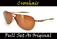 O Brand Crosshair Polarized Sunglasses Cycling Eyewear,Full Set As Original,3 Sets/Lot,Free Shipping