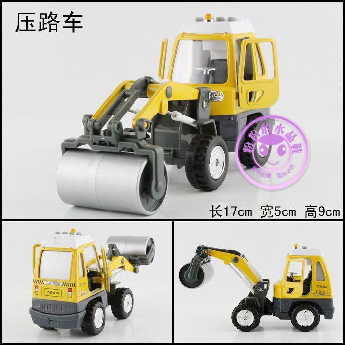 Engineering car alloy car model toy WARRIOR car plain road car(China (Mainland))