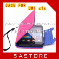 FREE SHIPPING 4.5 inch Faux Leather case for UMI x1s  Protect Cover (5ASTORE-A)